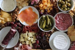 How to Build a Whole Table Charcuterie Board