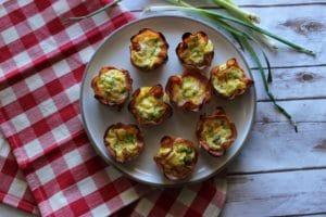Keto Ham & Egg Breakfast Cups