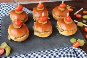My Famous Hamburger Sliders
