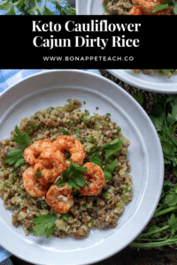 Cajun Cauliflower Dirty Rice