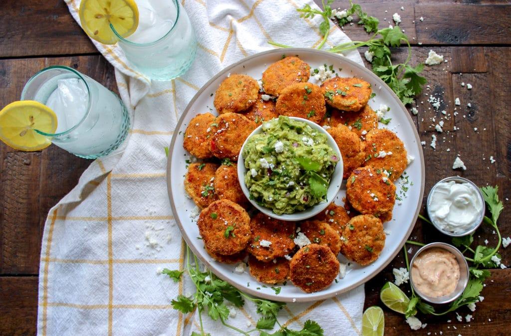 low carb chicken fajita nuggets