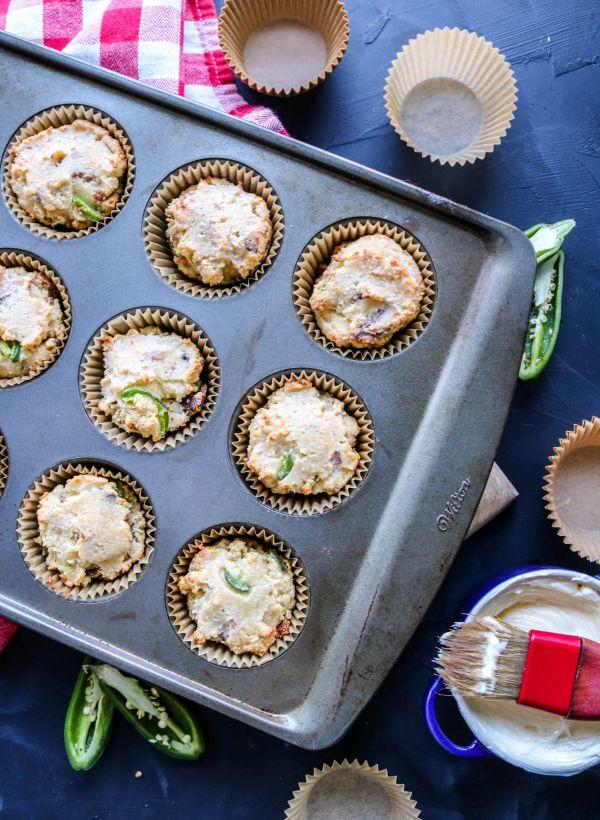 Easy Keto Cornbread Style Muffins