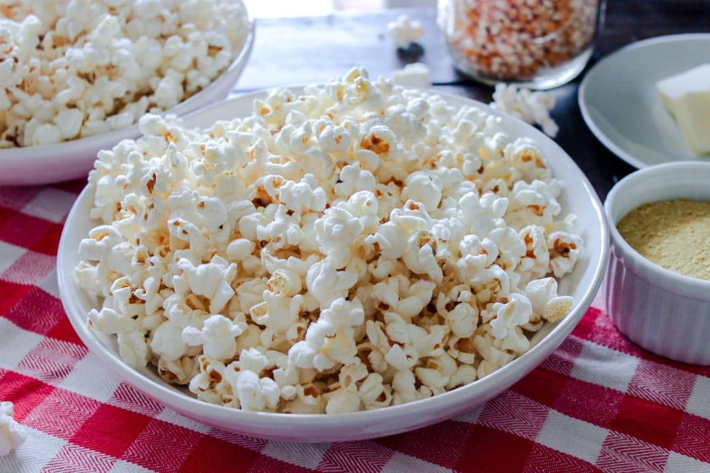 Valentines Day Dates & Easy Homemade Stove-top Popcorn