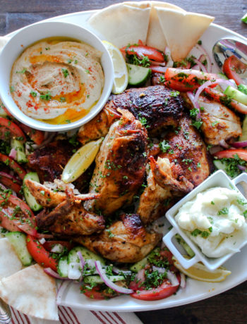 Whole Roasted Chicken Shawarma