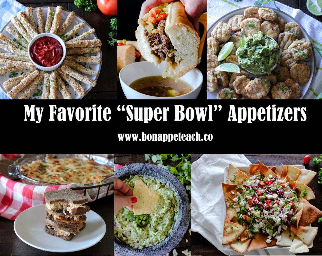 My Top Seven Favorite Super Bowl Recipes