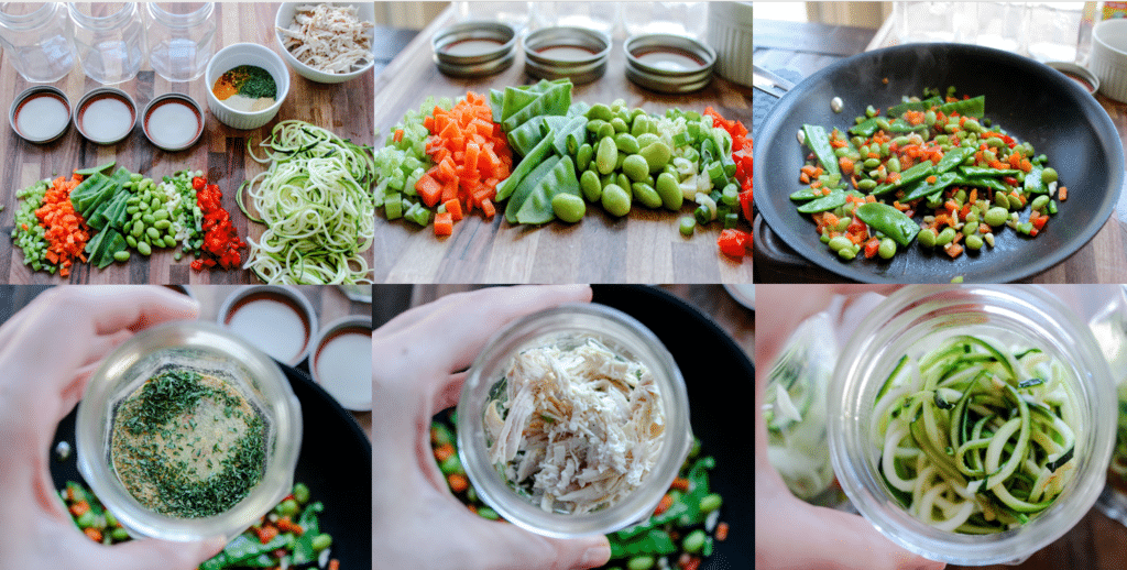 Asian Inspired Chicken Zoodle Soup