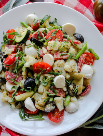 Cauliflower Antipasto Salad