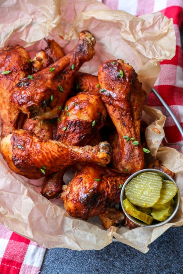 Keto BBQ Chicken Drumsticks