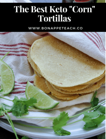 Keto Corn Tortillas