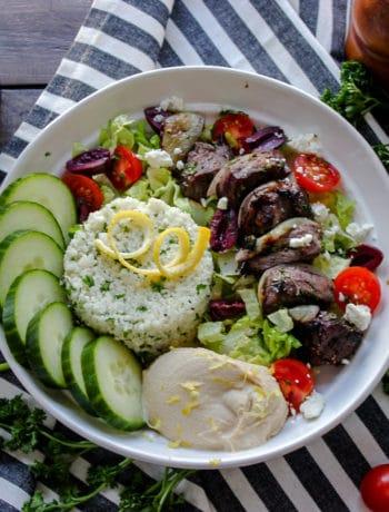Greek Cauliflower Rice