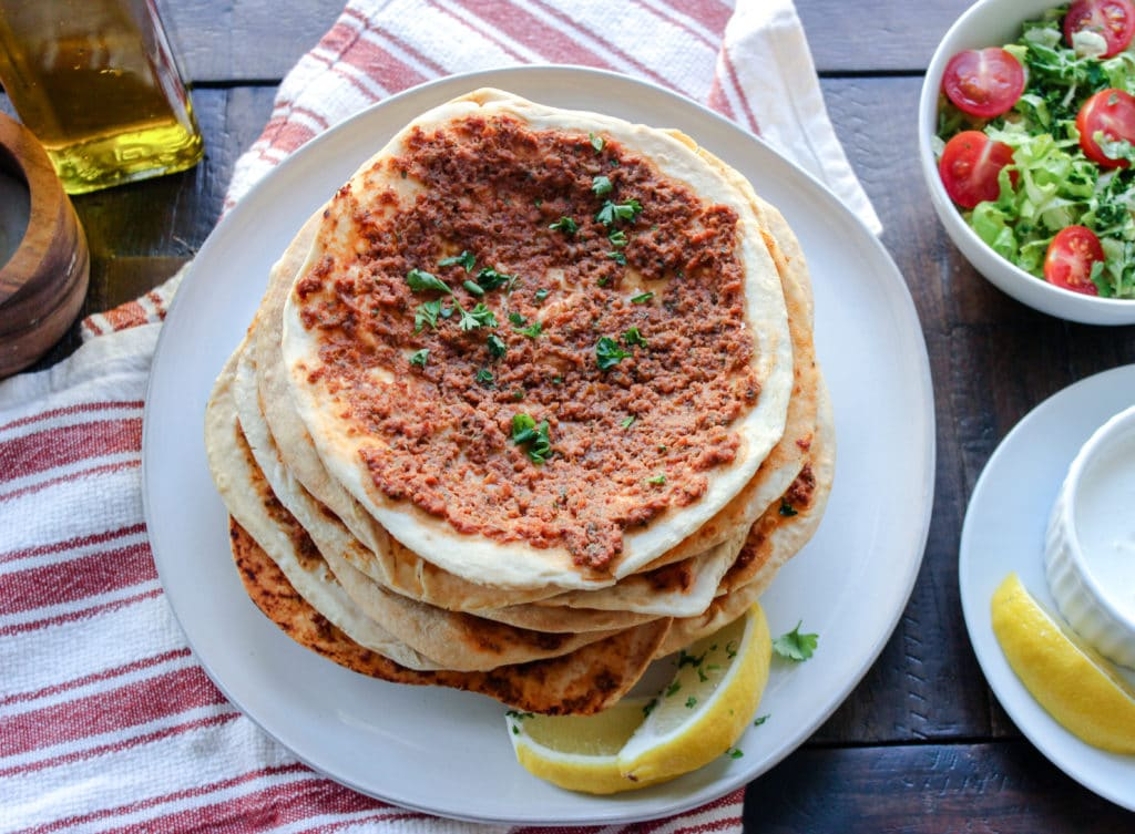 Low Carb Armenian Lahmajun