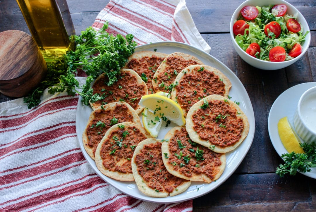 Keto Armenian Pizzas (Lahmajun)