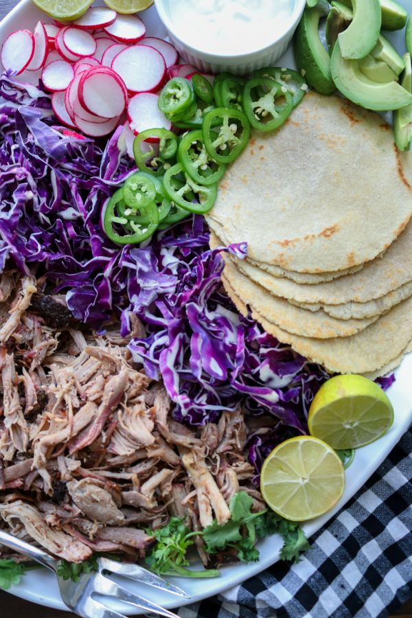 Low Carb BBQ Pulled Pork Tacos