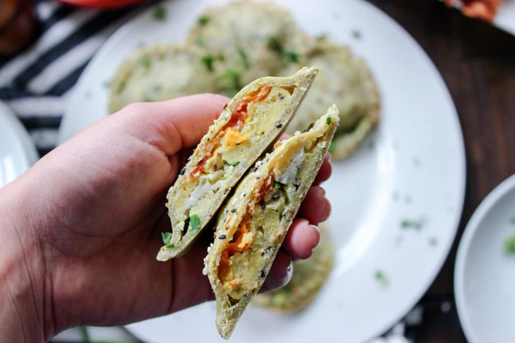 Low Carb Everything Bagel Hot Pockets