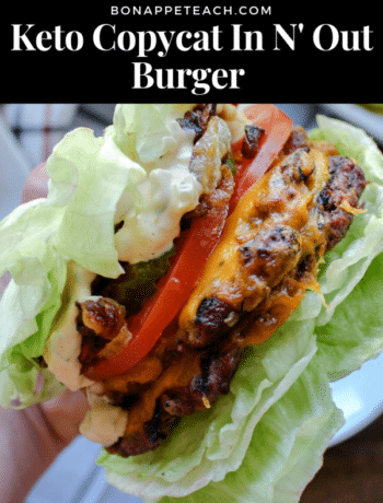 Keto Copycat In N' Out Burger