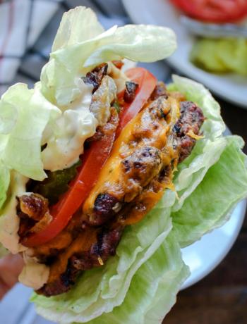Keto Copycat In n Out Burger