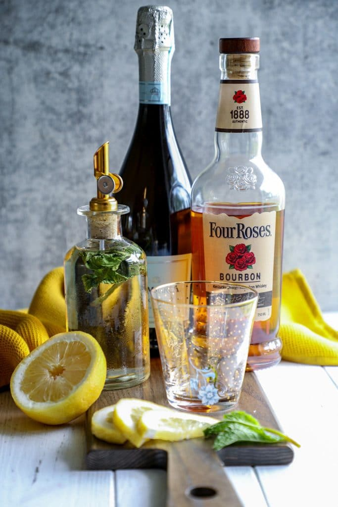 Prosecco mint julep recipe ingredients