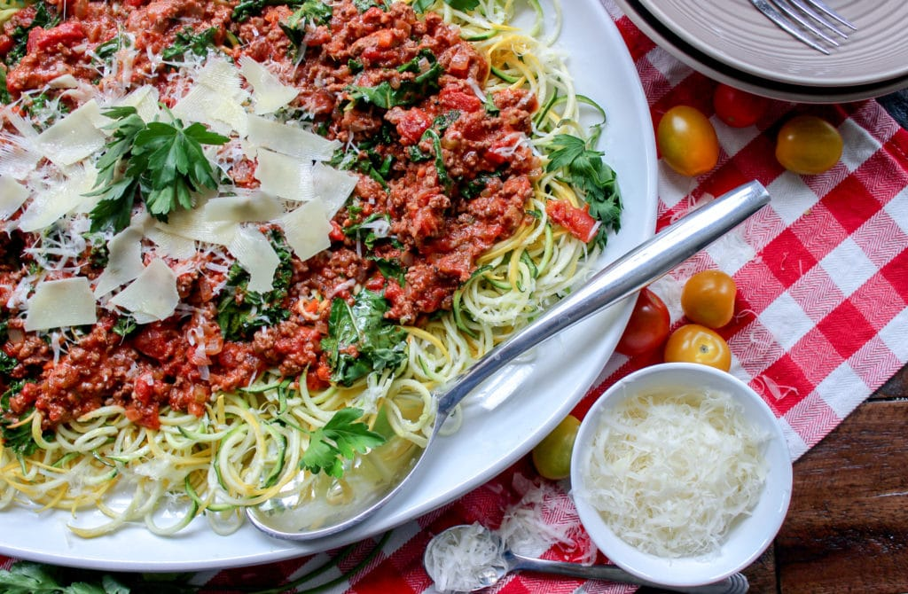 Low Carb Bolognese