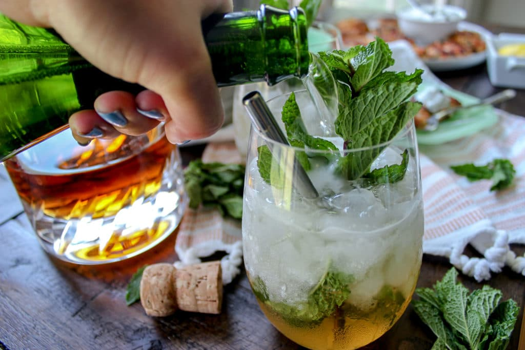 The Prosecco Mint Julep