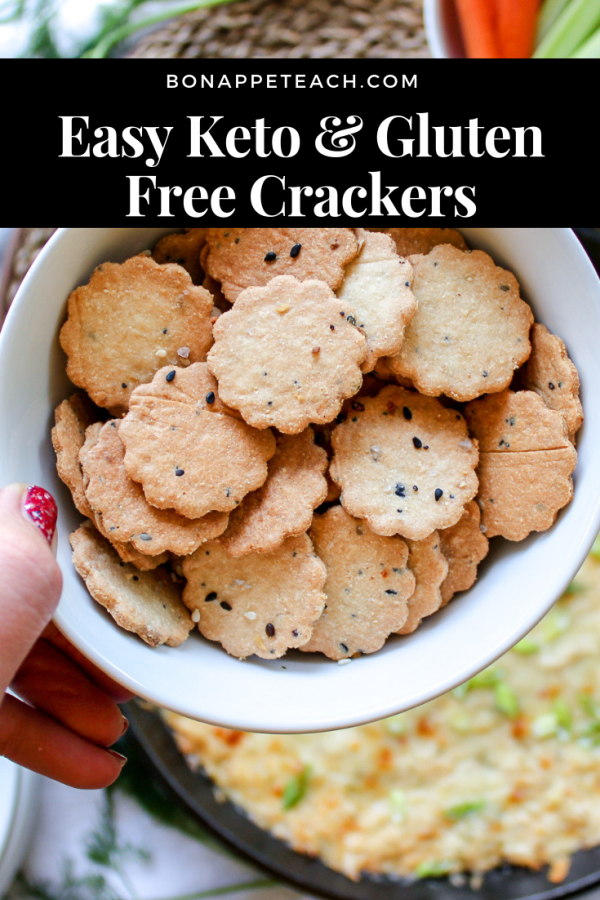 Easy Keto Crackers
