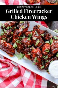 Grilled Firecracker Wings