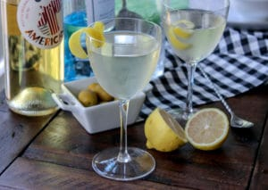The Martini with an Oliver Twist