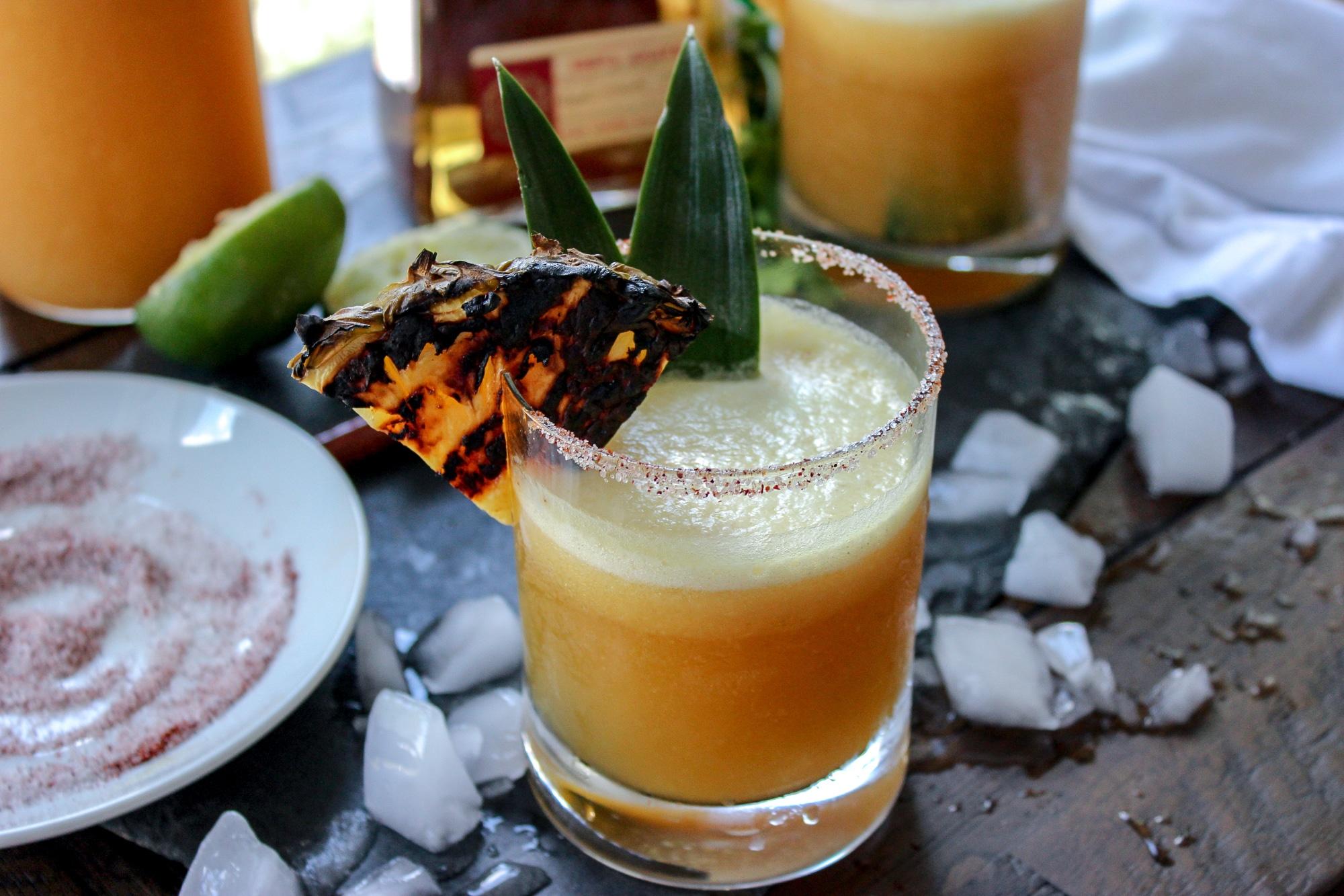 Jalapeno Pineapple Mezcal Margarita