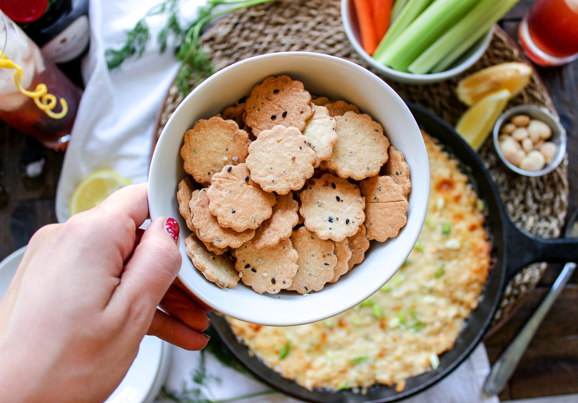 Easy Keto Crackers