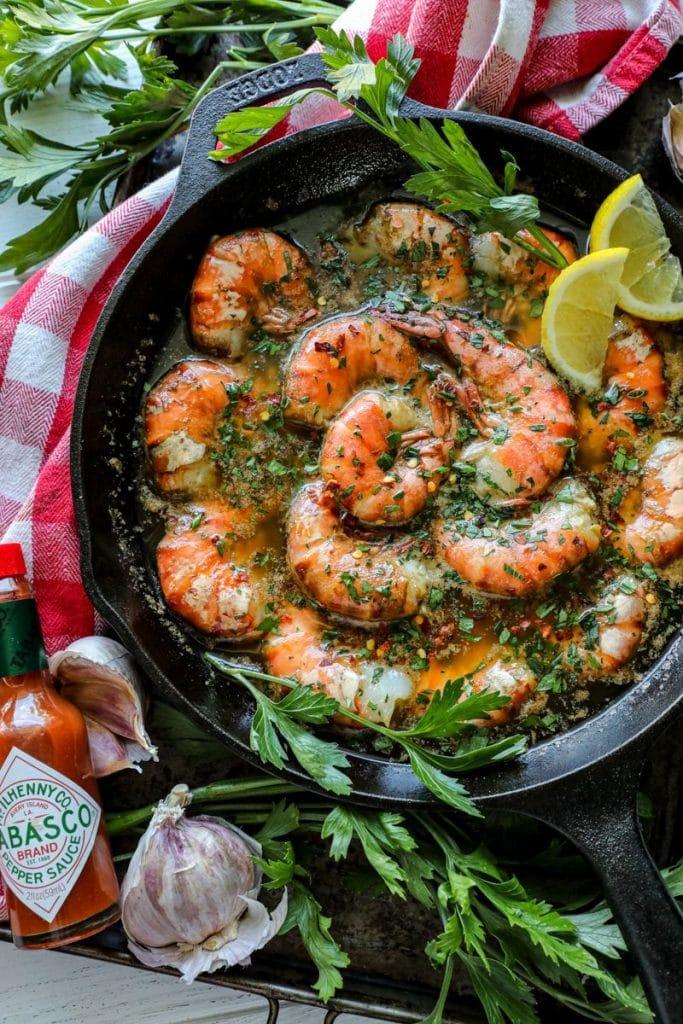 Easy Smoked Shrimp