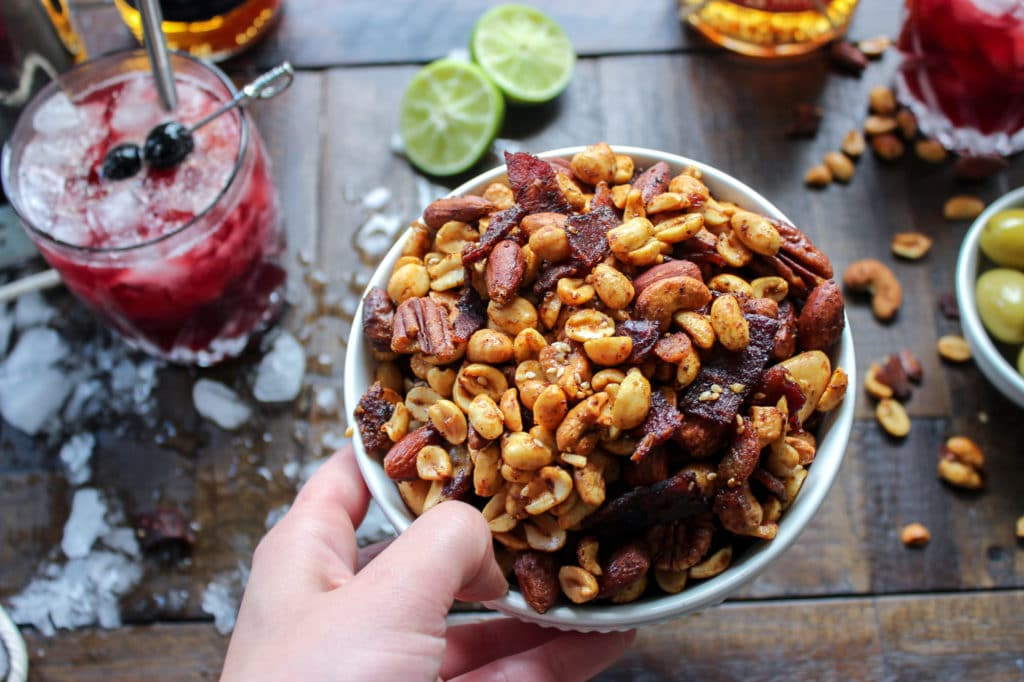 Asian Inspired BBQ Snack Mix