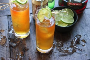 Moby Dick: The Dark and Stormy Cocktail