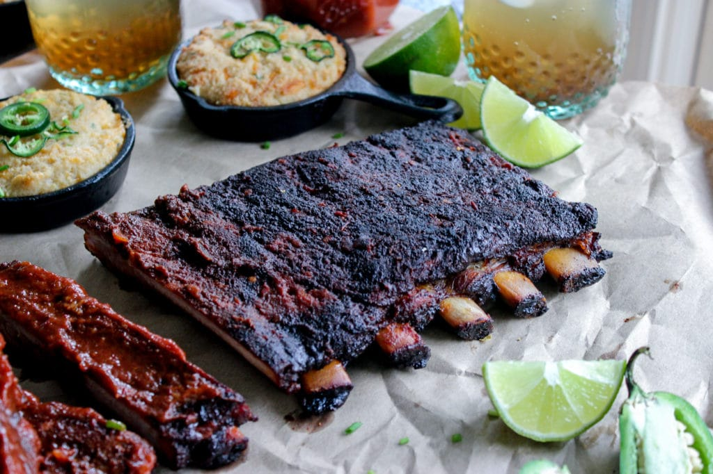 Keto Chipotle Smoked Ribs