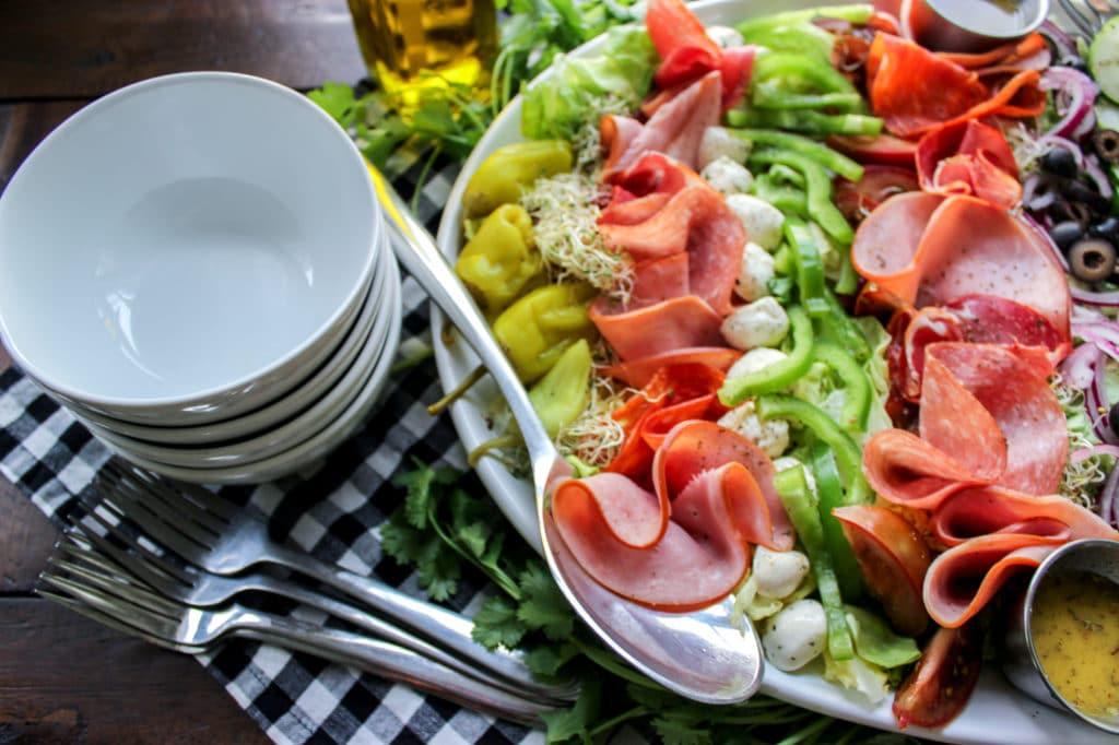 Keto Italian Sub Salad