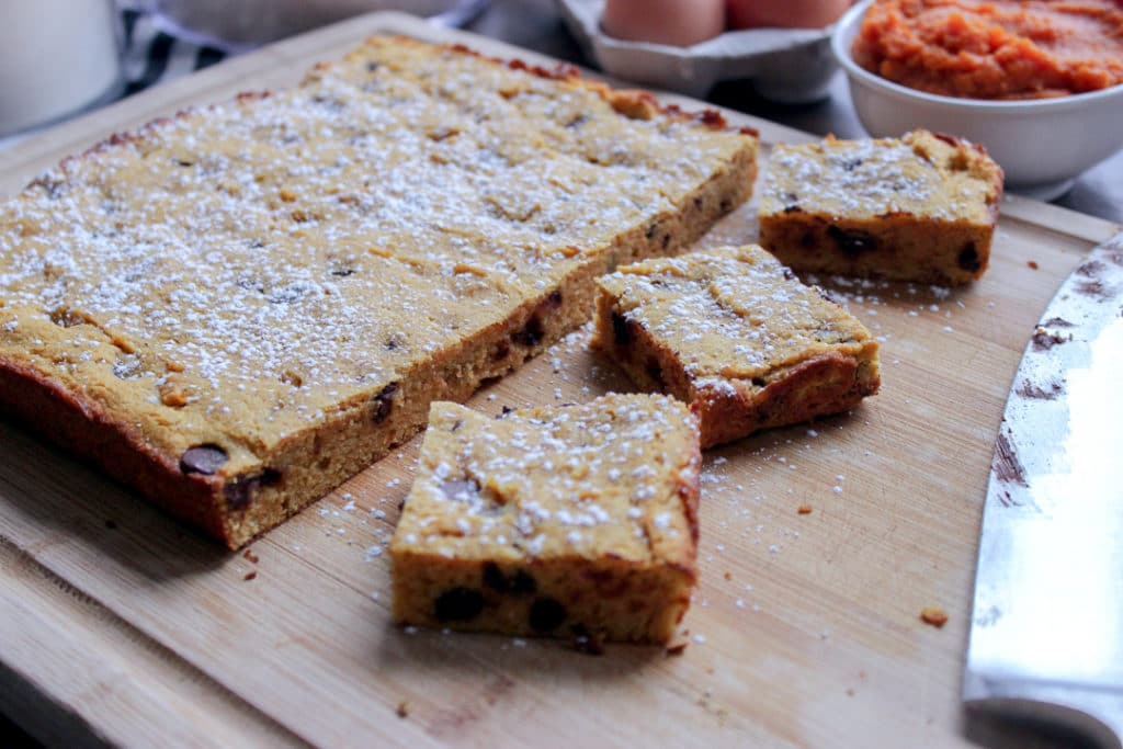 Keto Pumpkin Bread Bars