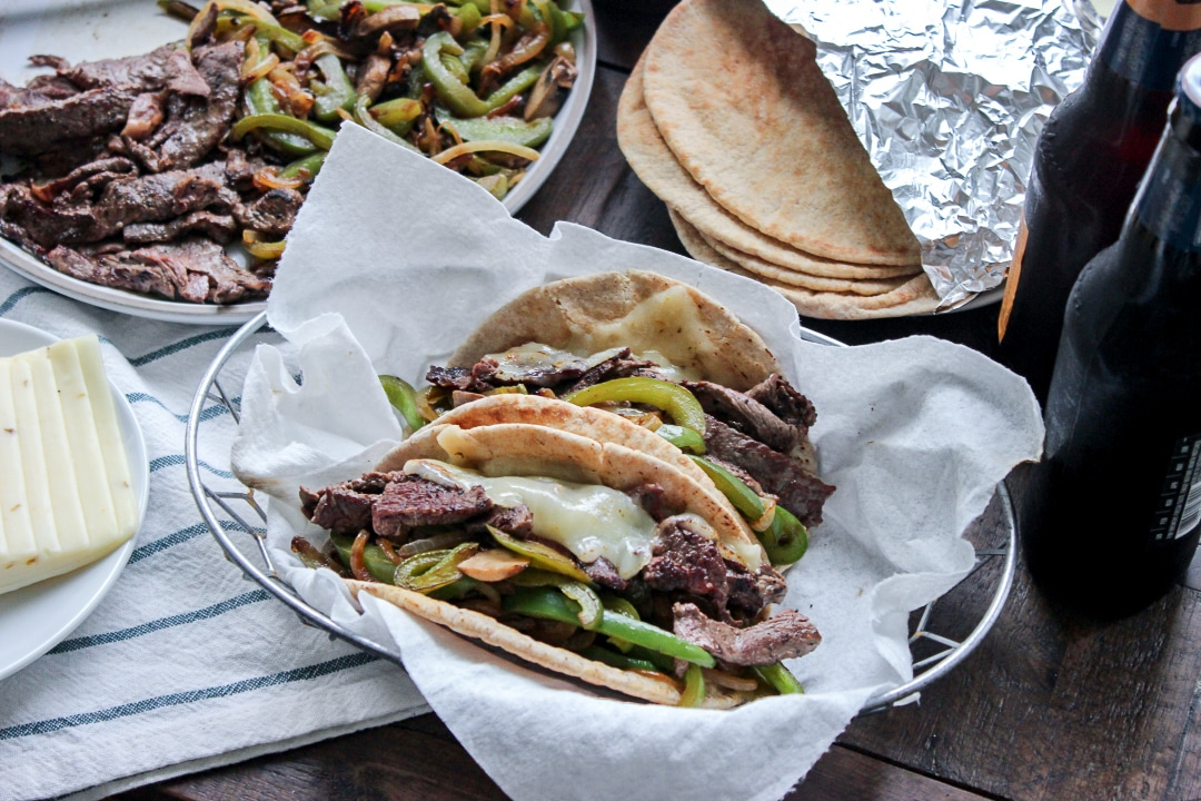Low Carb Philly Cheese Steaks