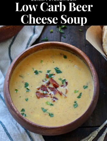Low Carb Beer Cheese Soup