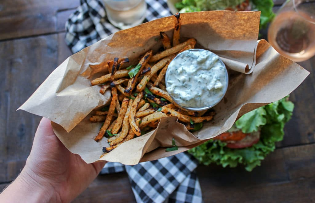 Crispy Low Carb Jicama Fries