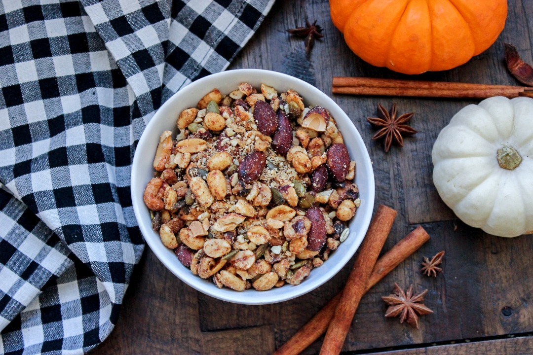 Grain Free Pumpkin Spiced Granola