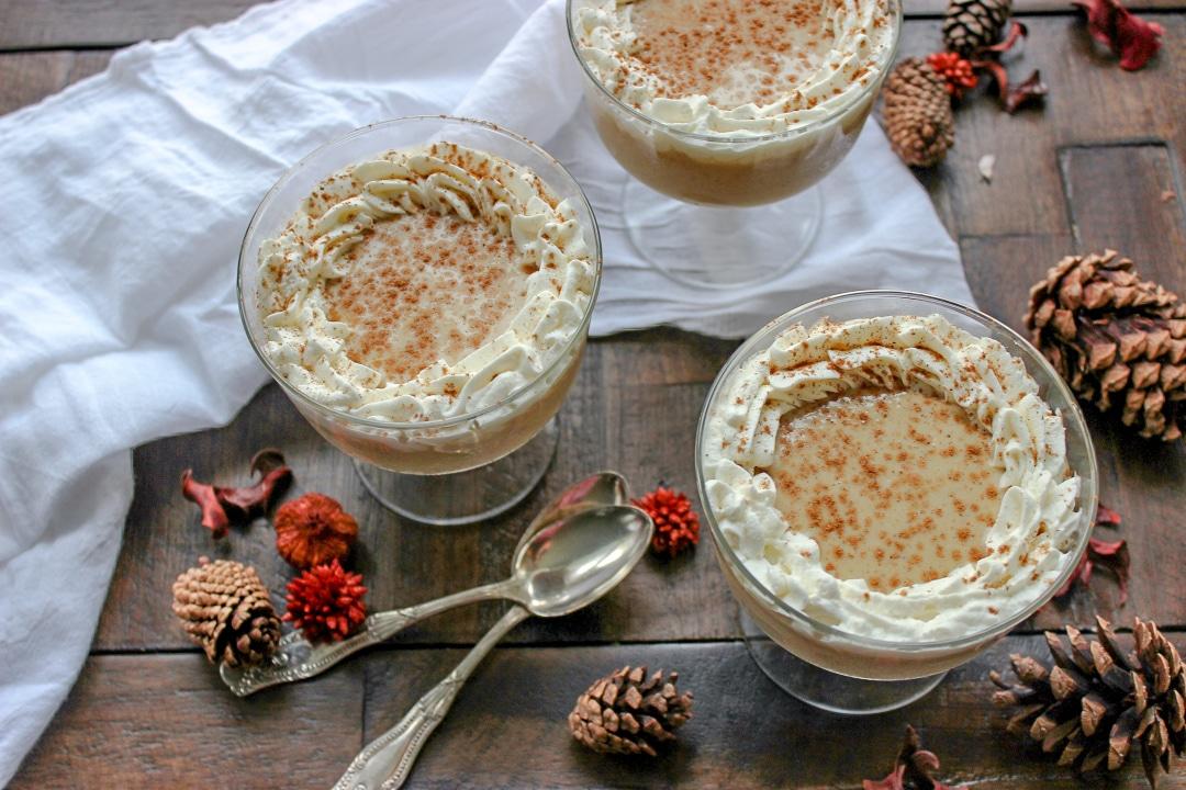 Keto Pumpkin Spice Latte Pudding