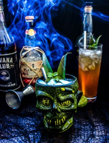 How To Make A Zombie Cocktail