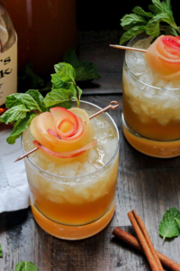 Gone With The Whiskey- Apple Cider Whiskey Smash