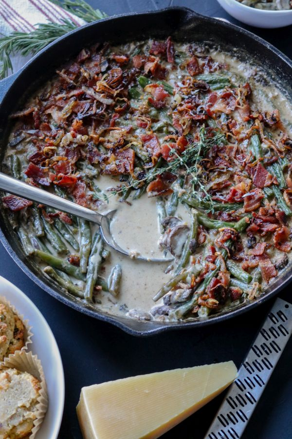 Low Carb Green Bean Casserole