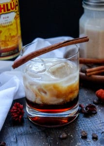 The Lion, The Witch, and The Pumpkin Spice White Russian