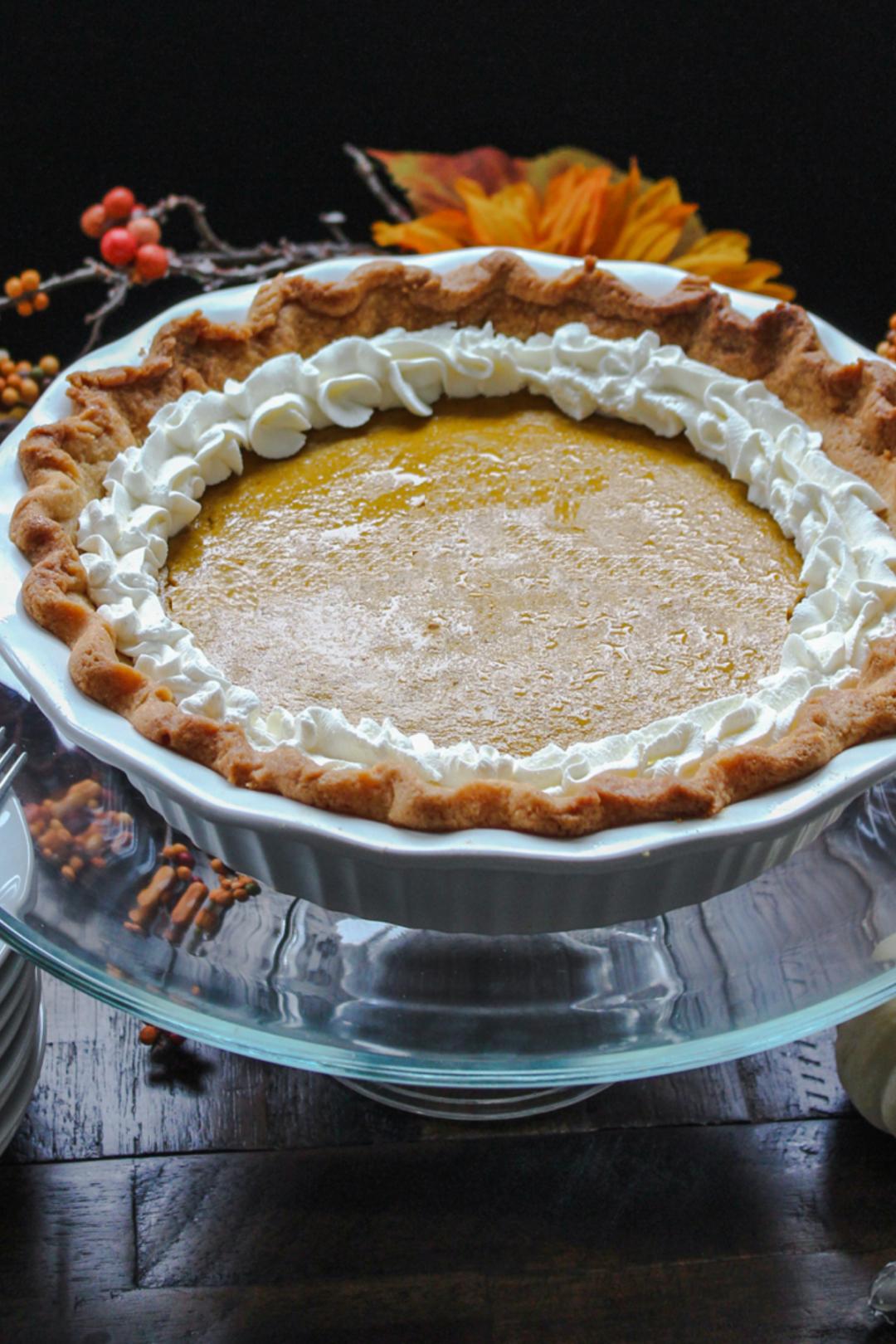 Low Carb Pumpkin Pie