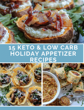 15 Keto & Low Carb Holiday Appetizer Recipes