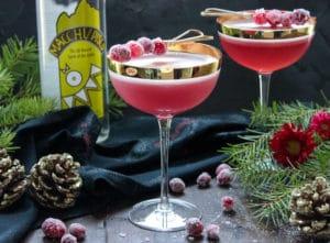 The Princess Brandy: The Cranberry Pisco Sour