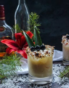Love in the Time of Colada: A Christmas Colada Cocktail