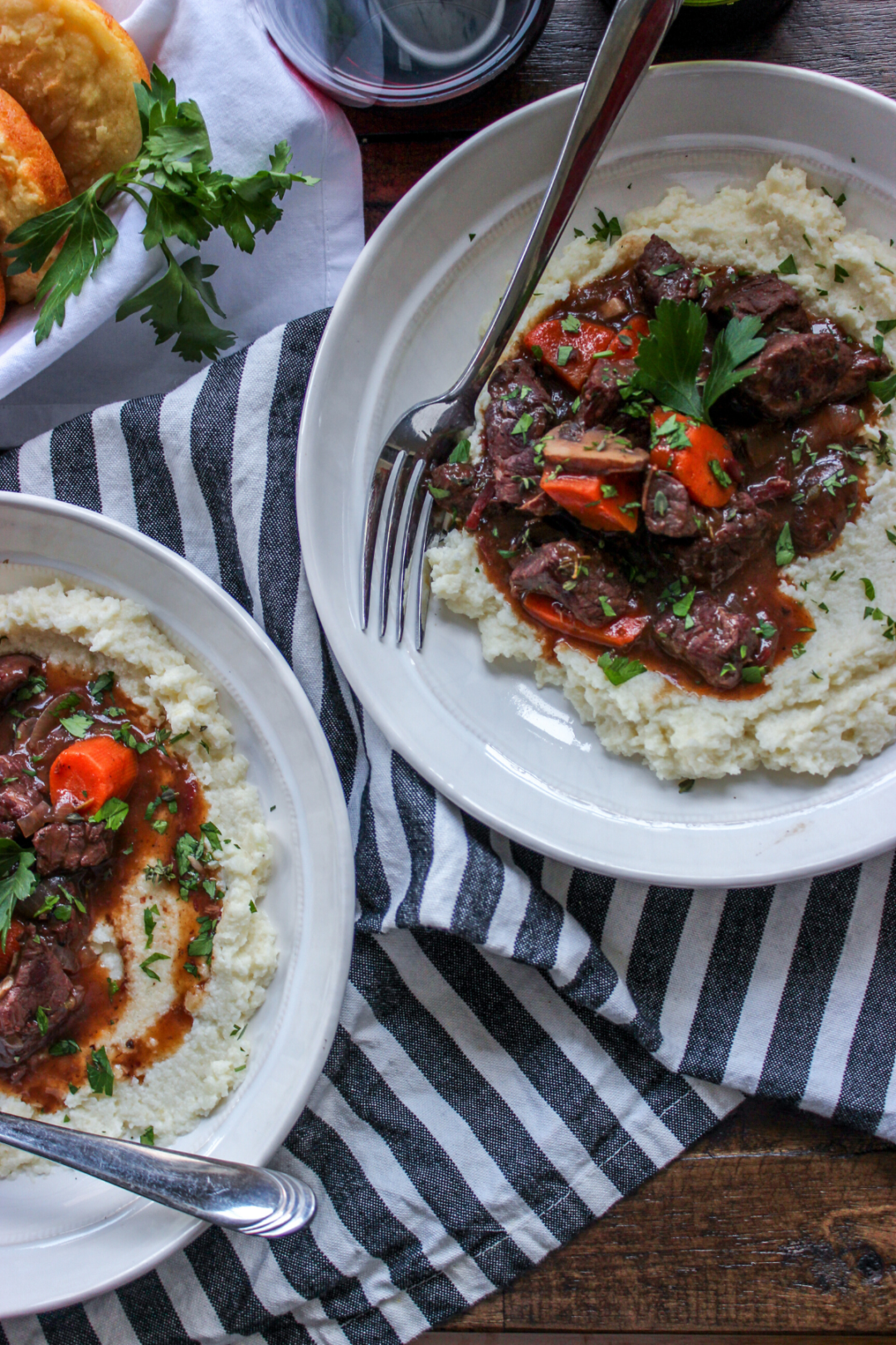 Low Carb Beef Bourguignon