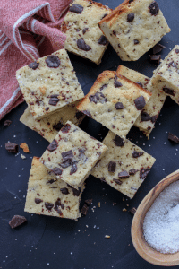 Easy Almond Flour Keto Blonde Brownies