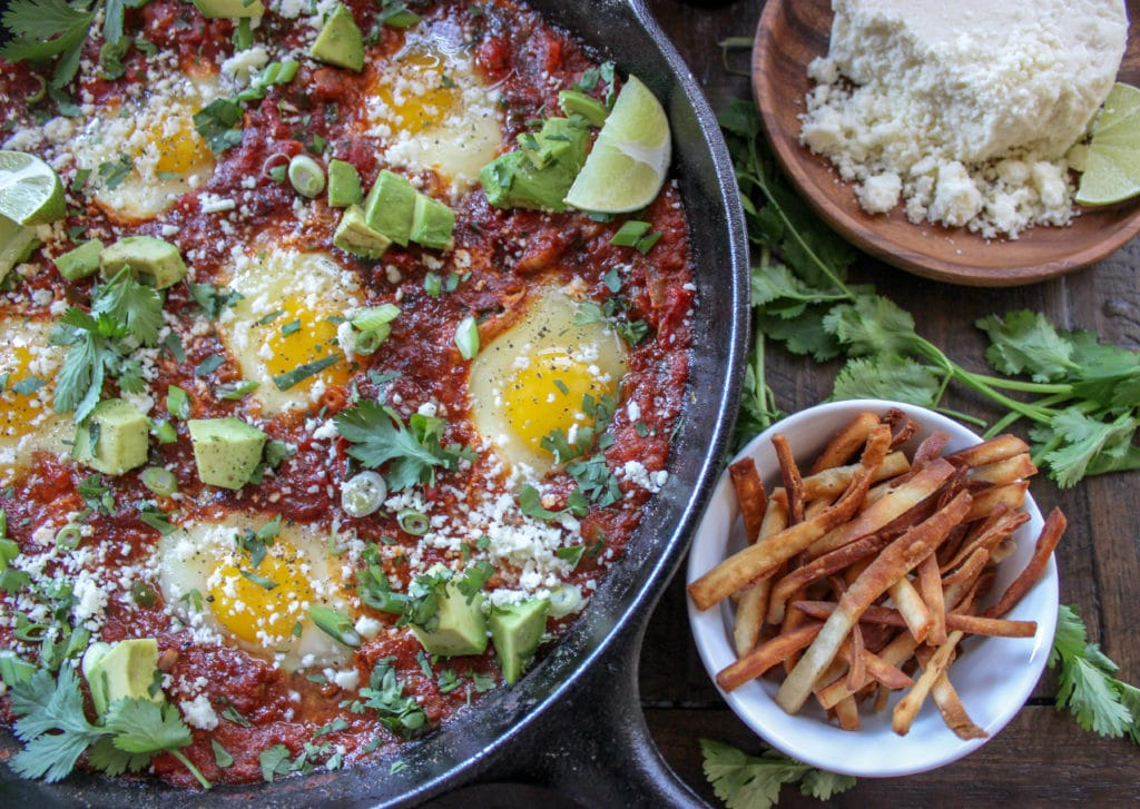 Mexican Inspired Shakshuka